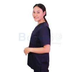 ชุดเจ้าหน้าที่ทางการแพทย์ ANNO สีน้ำเงินเข้ม Size -[ XS | S | M | L | XL ]