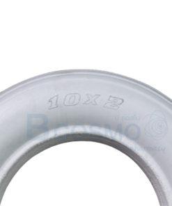 ยางอะไหล่รถเข็น 10×2 นิ้ว สีเทา