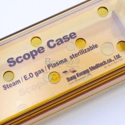 กล่องใส่เครื่องมือ นึ่งฆ่าเชื้อ พลาสติก Sungkwang Laparoscope case 480x90x50 mm. (KR)