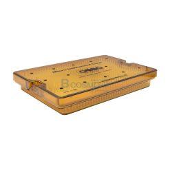 กล่องใส่เครื่องมือ นึ่งฆ่าเชื้อ พลาสติก Sungkwang Micro Instrument 2 Floor Case 260x170x40 mm. (KR)