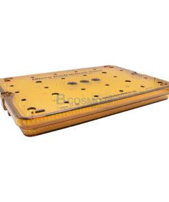 กล่องใส่เครื่องมือ นึ่งฆ่าเชื้อ พลาสติก Sung Kwan Micro Instrument 2 Floor Case 400x270x45 mm. (KR)