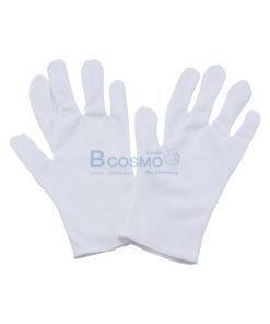 ถุงมือผ้า TC 511P สีขาว 12 คู่