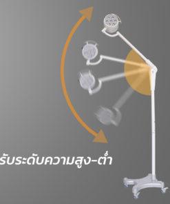 โคมไฟผ่าตัด 7LED200 Shadowless Lamp 360 องศา