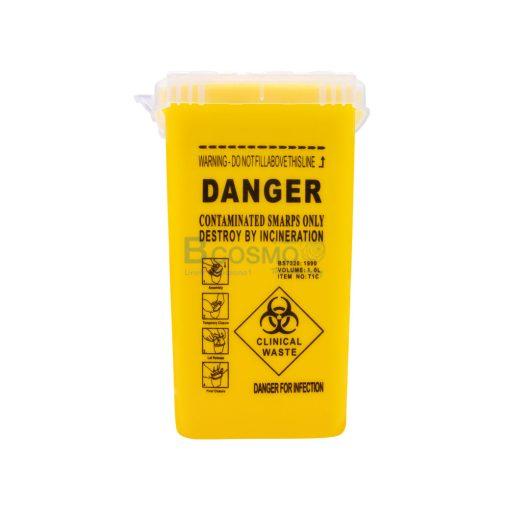 DANGER 4x6 นิ้ว สีเหลือง CN MT1002 Y 1