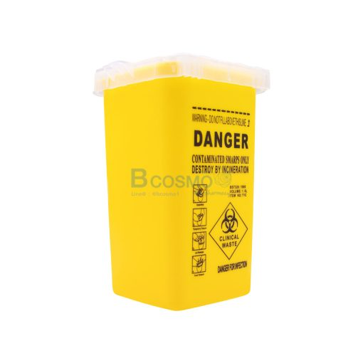 DANGER 4x6 นิ้ว สีเหลือง CN MT1002 Y 2