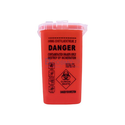 DANGER 4x6 นิ้ว สีแดง CN MT1002 R 1