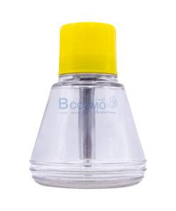 ขวดแก้วปั๊มของเหลว 150 ml. ฝาเหลือง