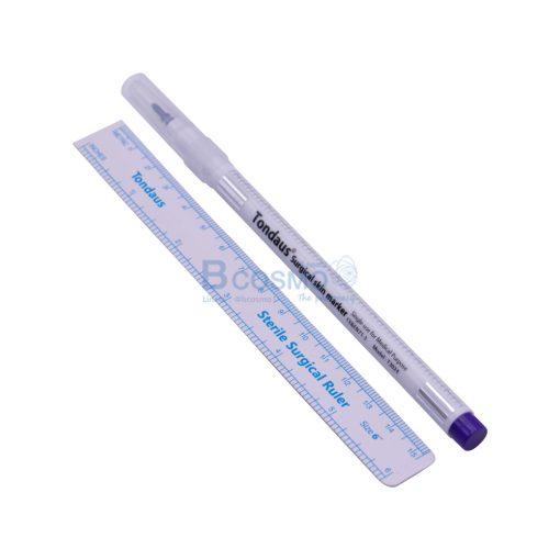 Sterile TONDAUS T3024 หมึกสีม่วง หัว 1 mm. CN MT0433 VI 1 2