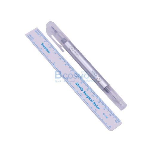 Sterile TONDAUS TD01 หมึกสีม่วง 2 หัว 0.5 1 mm. CN MT0402 VI 1 4