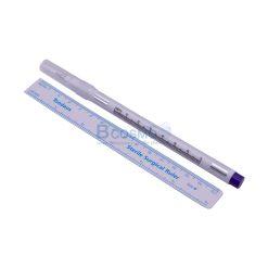 ชุดปากกาผ่าตัด Sterile  หมึกสีม่วง  แบบ – [ T3024 1 หัว 0.5 mm. |  T3024 1 หัว 1 mm. | TD01 2 หัว 0.5/1 mm. ]