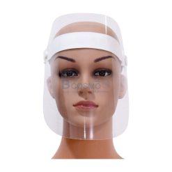 หน้ากากป้องกันสารคัดหลั่งแผ่น 1 ชิ้น แบบสายรัด