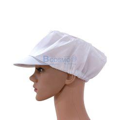 หมวกคลุมผม สีขาว 12 ชิ้น