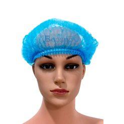 หมวกตัวหนอนสีฟ้า 100's 15 cm.