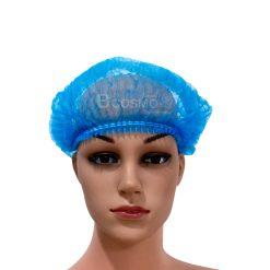 หมวกตัวหนอนสีน้ำเงิน 100 ชิ้น