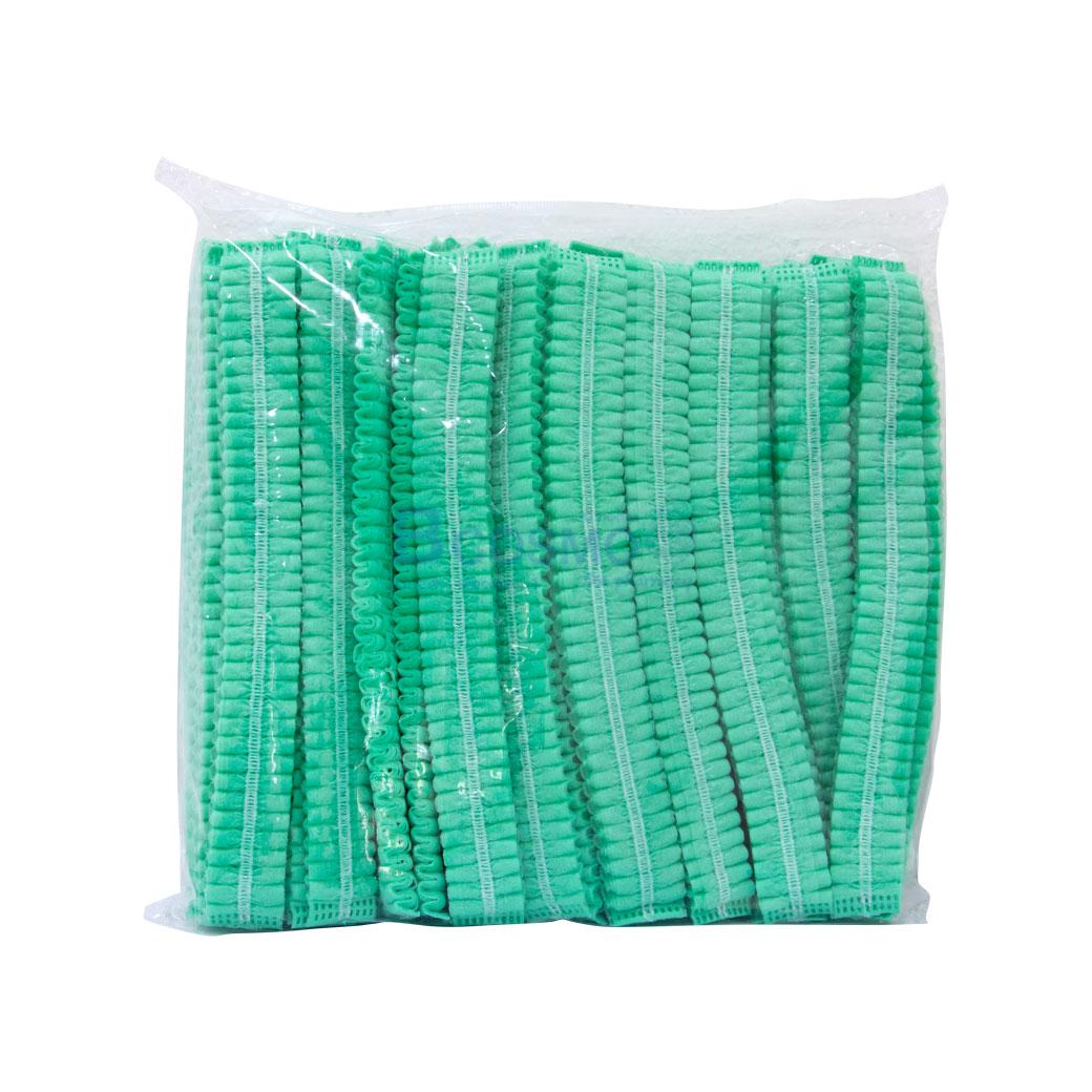 หมวกตัวหนอนสีเขียว 50S 22 cm. MT0223 1 2