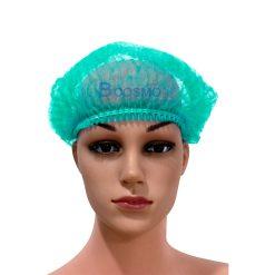 หมวกตัวหนอนสีเขียว 50'S 22 cm.