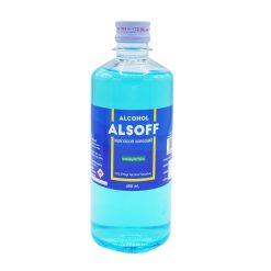แอลกอฮอล์ ALCOHOL 70% ALSOFF 450 ml.