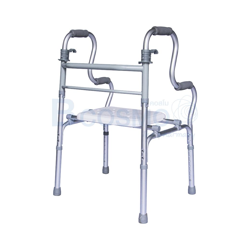 EW0212 ที่หัดเดินแบบเว้าพร้อมที่นั่งอาบน้ำ WALKER Y9636L