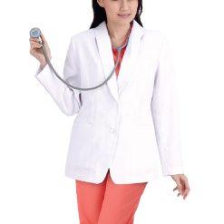 เสื้อสูท GW7108 ผ้าวาเลนติโน่สีขาว Size – [ S | M | L ]