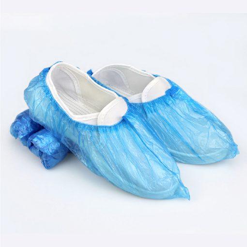 MT0436 BL ถุงคลุมเท้าพลาสติก สีฟ้า 100s 7
