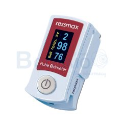 เครื่องวัดระดับออกซิเจนปลายนิ้ว ROSSMAX BLUETOOTH Fingertip Pulse Oximeter SB210