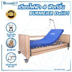 เตียงไฟฟ้า 4 ไก BURMEIER Dali01