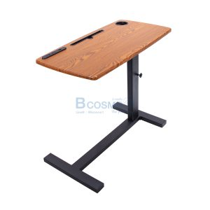 โต๊ะคร่อมเตียง อเนกประสงค์ ลายไม้