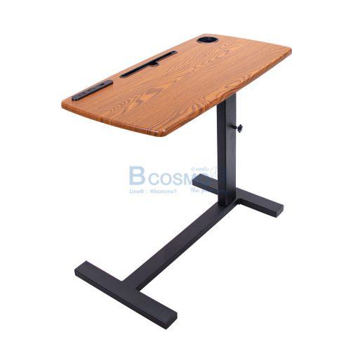 EB0015 BR โต๊ะคร่อมเตียง อเนกประสงค์ ลายไม้ C 1