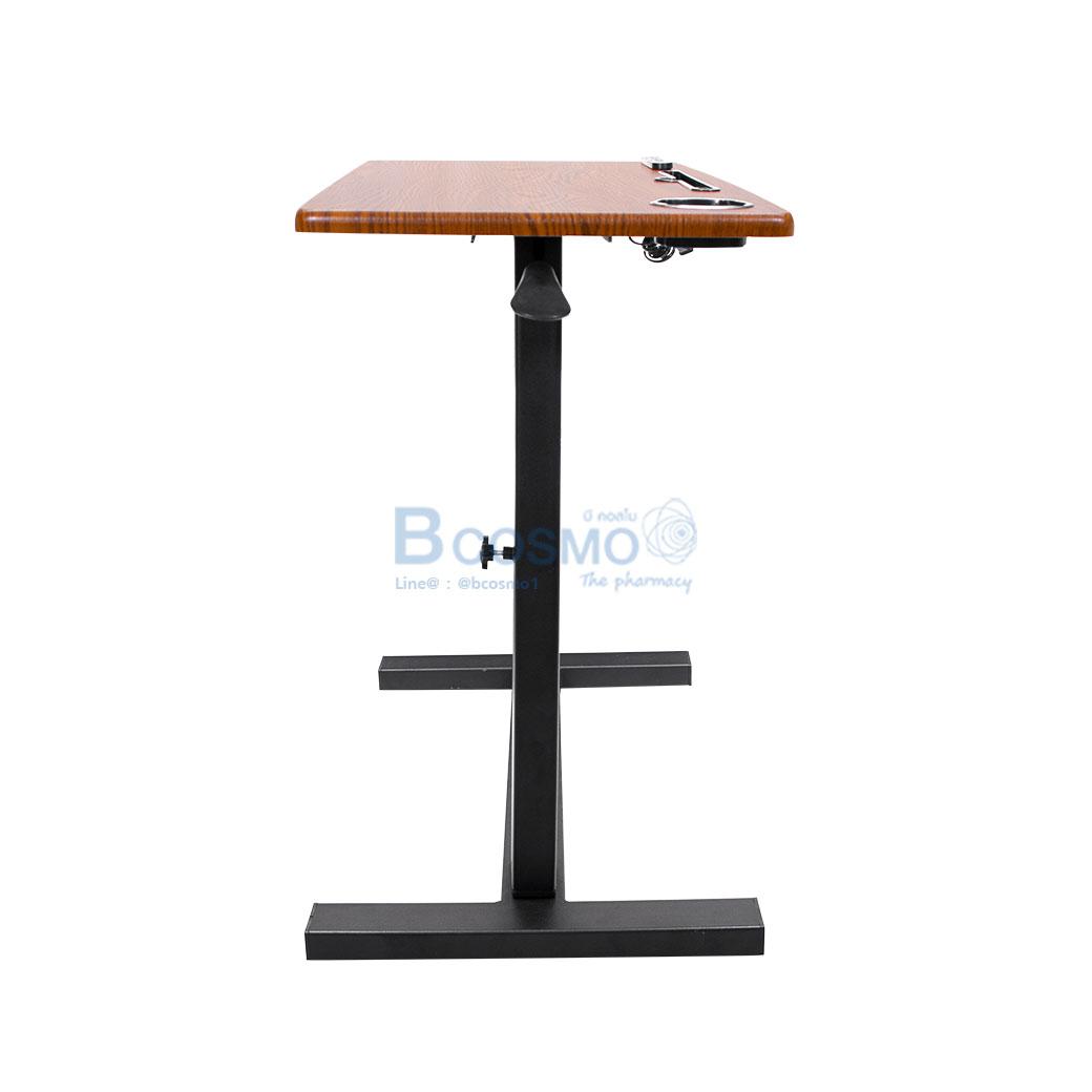 EB0015 BR โต๊ะคร่อมเตียง อเนกประสงค์ ลายไม้ C 2