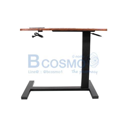 EB0015 BR โต๊ะคร่อมเตียง อเนกประสงค์ ลายไม้ C 3