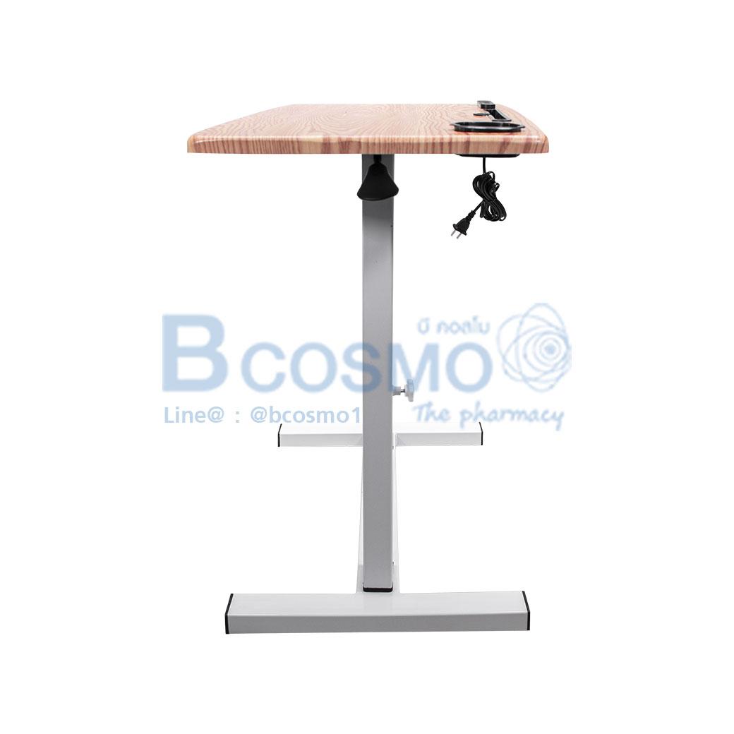 EB0015 CR โต๊ะคร่อมเตียง อเนกประสงค์ ครีม C 3