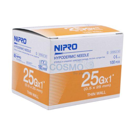 EF0903 25x1 เข็มฉีดยา NIPRO 25Gx1นิ้ว 1100 ชิ้น ลายน้ำ2