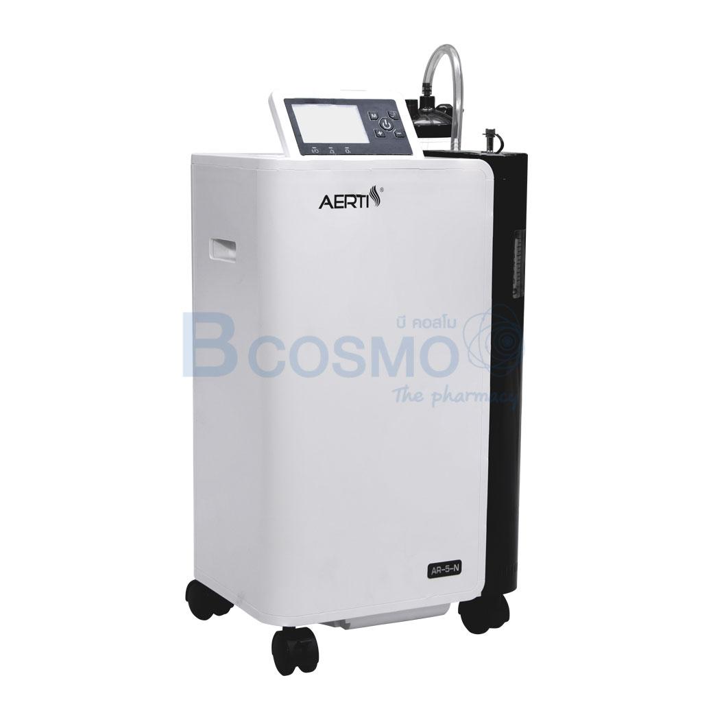 EO0012 5 เครื่องผลิตออกซิเจน AERTI AR 5 N 5 L ลายน้ำ3 1