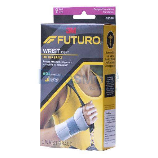 ES0119 R พยุงข้อมือสำหรับผู้หญิง ข้างขวา FUTURO Wrist For Her Right ลายน้ำ1