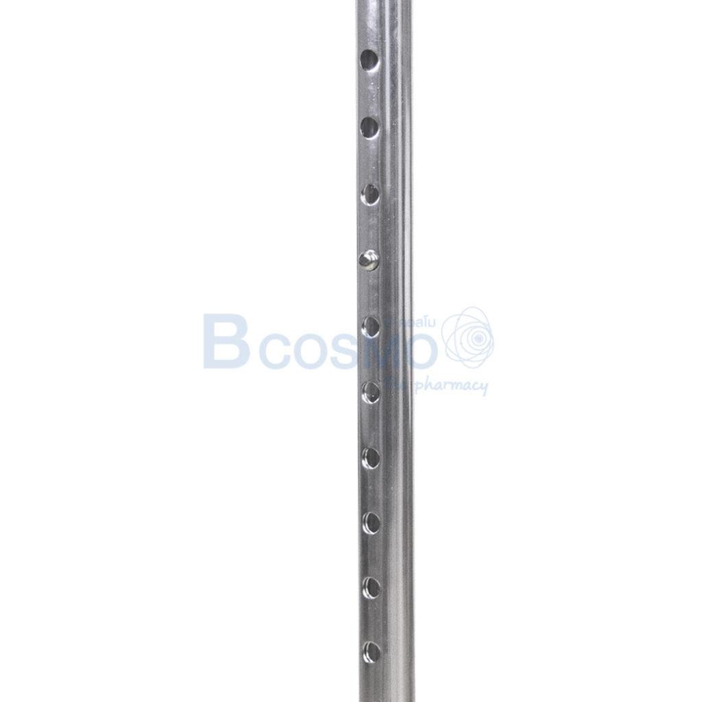 EW0032 01 ไม้เท้าอลูมิเนียม 4 ขาหัวฆ้อน ขาด 74 96 cm ลายน้ำ4
