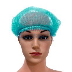 หมวกตัวหนอนสีเขียว 100's 15 cm.