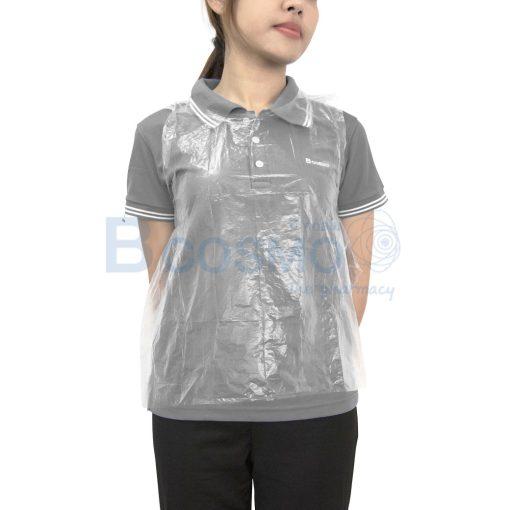 MT0295 C เอี๊ยมพลาสติกกันเปื้อน ครึ่งตัวเด็ก 56 x 65 cm 2
