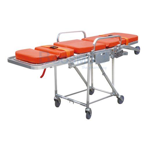 MT0307 1 เตียงเข็นฉุกเฉินปรับนั่งได้ สีส้ม C ลายน้ำ1