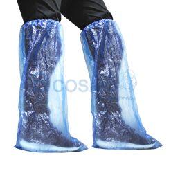 ถุงคลุมขา สีฟ้า leg cover 35×66 cm. 10's