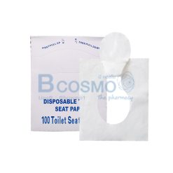 กระดาษรองฝาชักโครก Fold Toilet Seat Covers 100s'