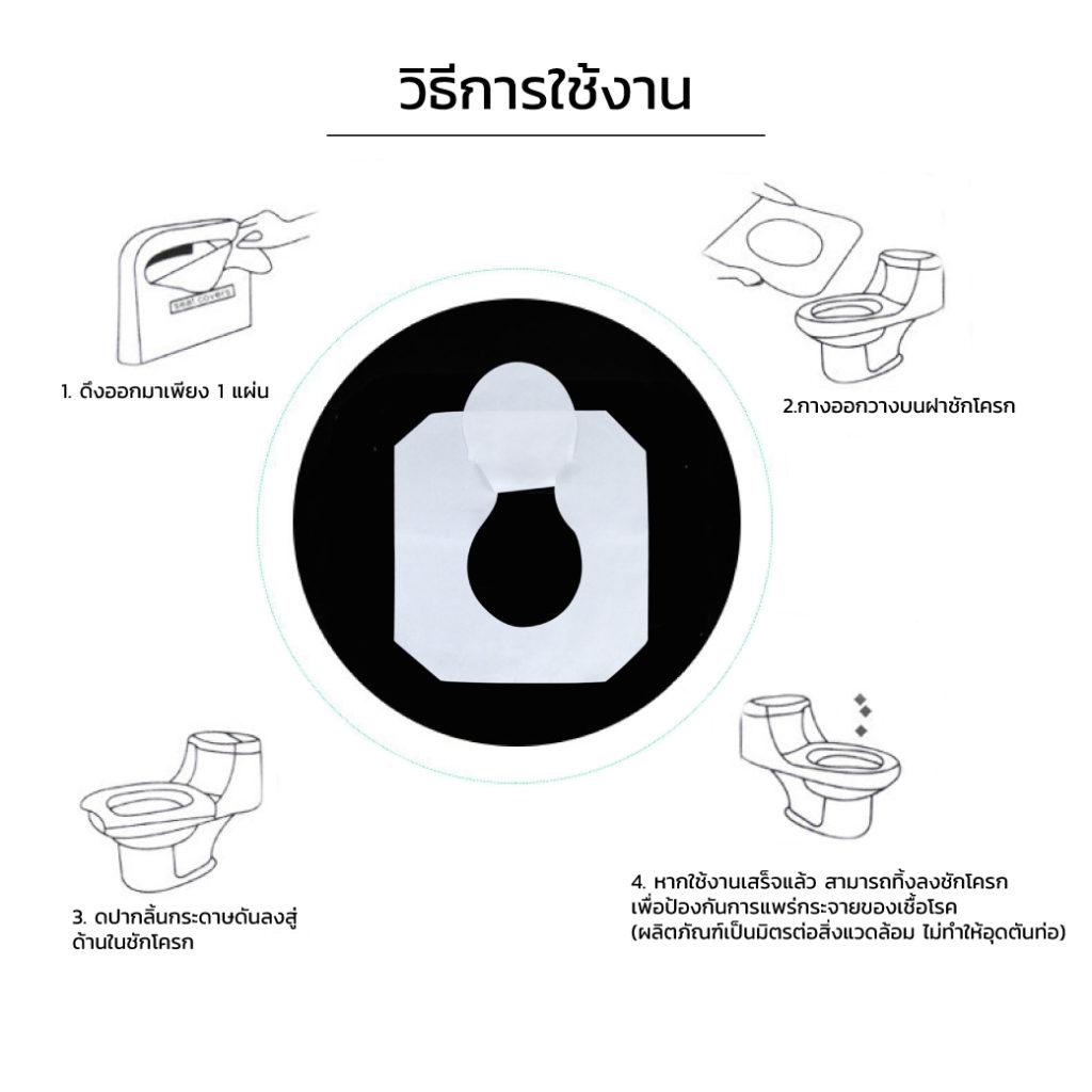Fold Toilet Seat Covers 250s C ET0304 250 4
