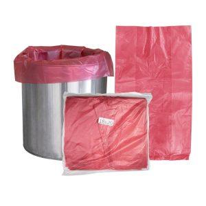 ถุงขยะสีแดง 1 kg. ขนาด S   M   L