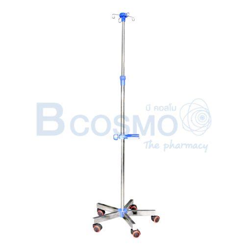 EB0112 เสาน้ำเกลือแบบ มีถาดวาง influsion pump C ลายน้ำ1