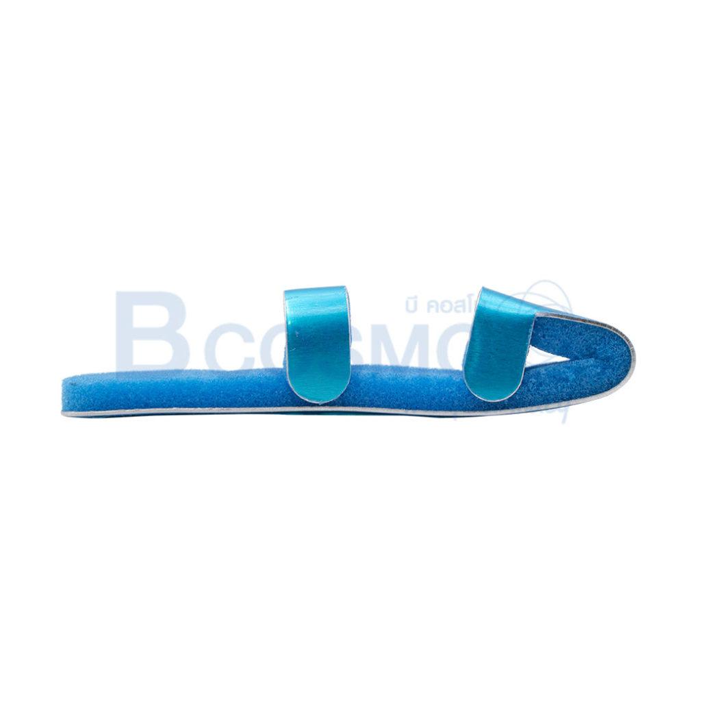ES1455 L เฝือกดามนิ้ว อลูมิเนียม สีฟ้า SIZE L C ลายน้ำ1