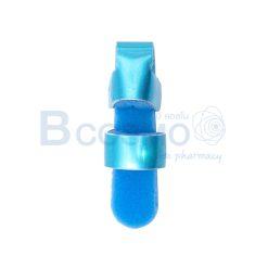 เฝือกดามนิ้ว อลูมิเนียม สีฟ้า SIZE S | M | L