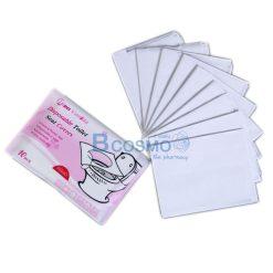 กระดาษรองฝาชักโครกแบบพกพา 10 ชิ้น ขนาด 355 x 430 mm.