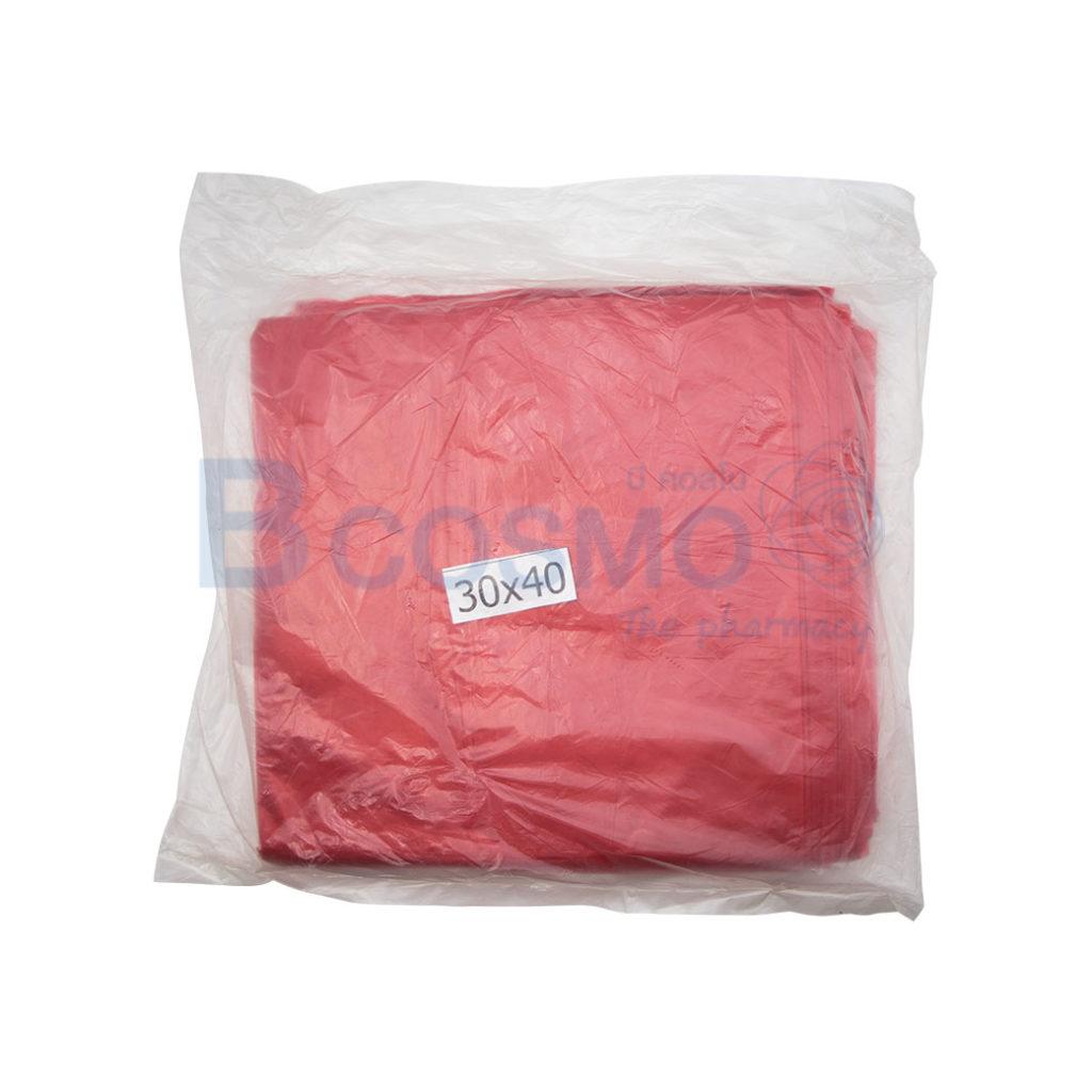 MT0337 L ถุงขยะสีแดง 1 kg. ขนาด 30x40 นิ้ว ลายน้ำ1