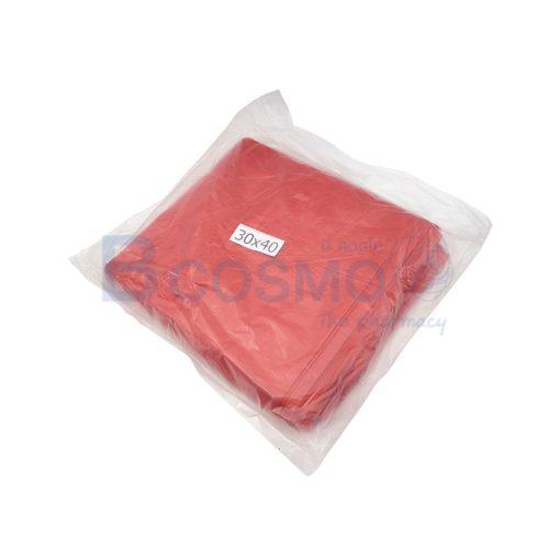 MT0337 L ถุงขยะสีแดง 1 kg. ขนาด 30x40 นิ้ว ลายน้ำ2