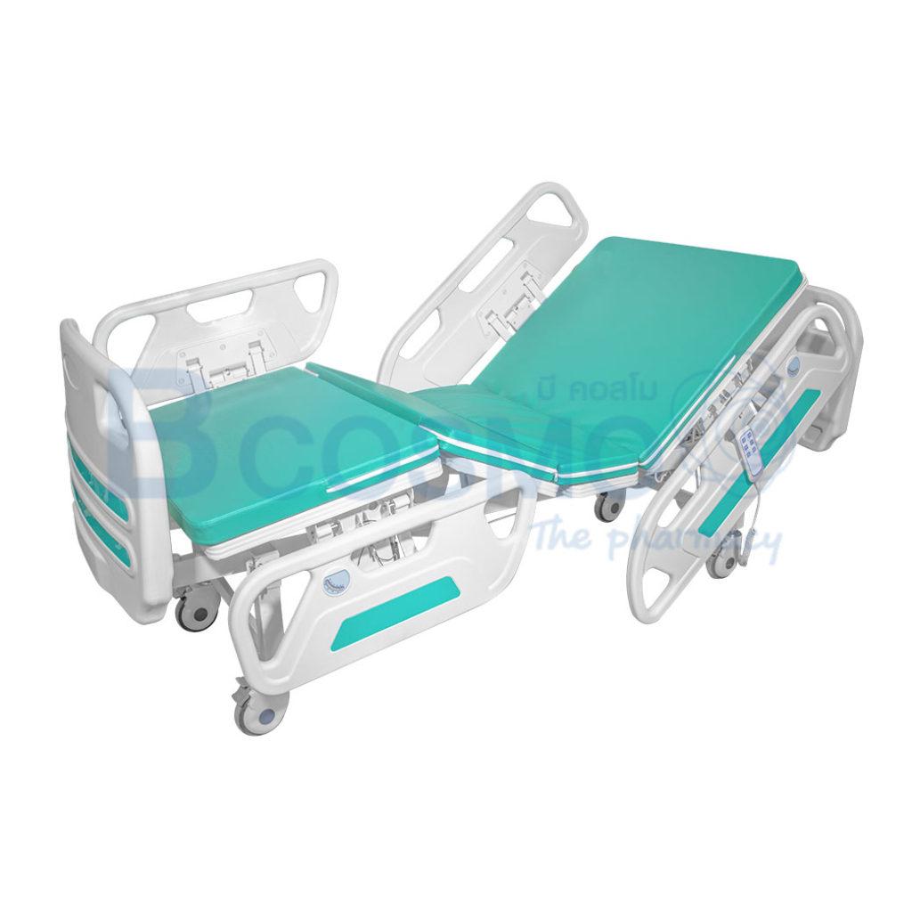 PB0114 GR เตียงผู้ป่วยไฟฟ้า 2 ไก YYY B01AB ราวปีกนก ลายน้ำ1