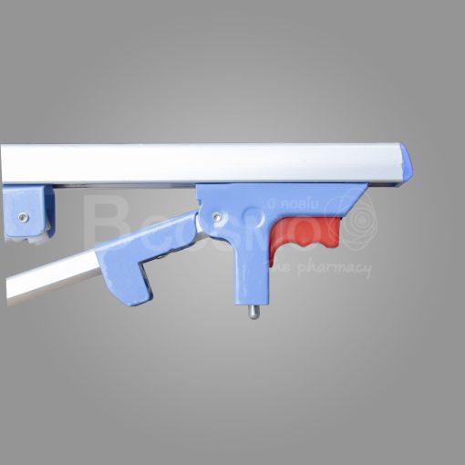 pb9801 bl 1 ราวสไลด์กั้นข้างแบบพับได้ 9 ขั้น ขนาดเล็ก สีฟ้า C ลายน้ำ4